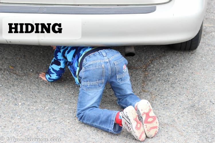 Special Needs Parenting-hiding