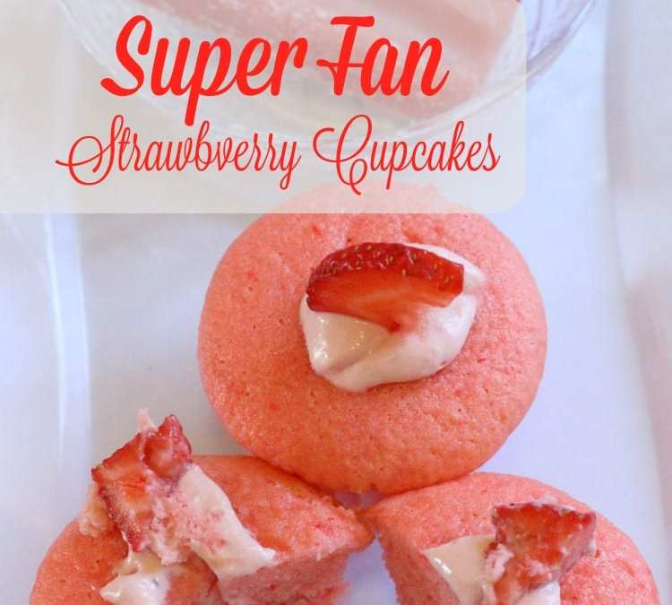 Super Fan Strawberry Cupcakes Filling Recipe