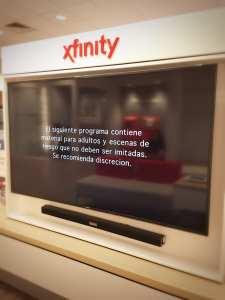 Xfinity X1 Spanish Programming