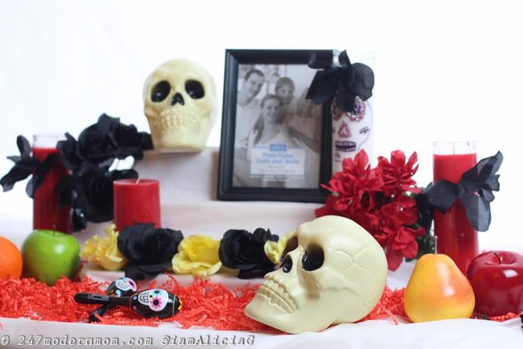 dia de los muertos altar base
