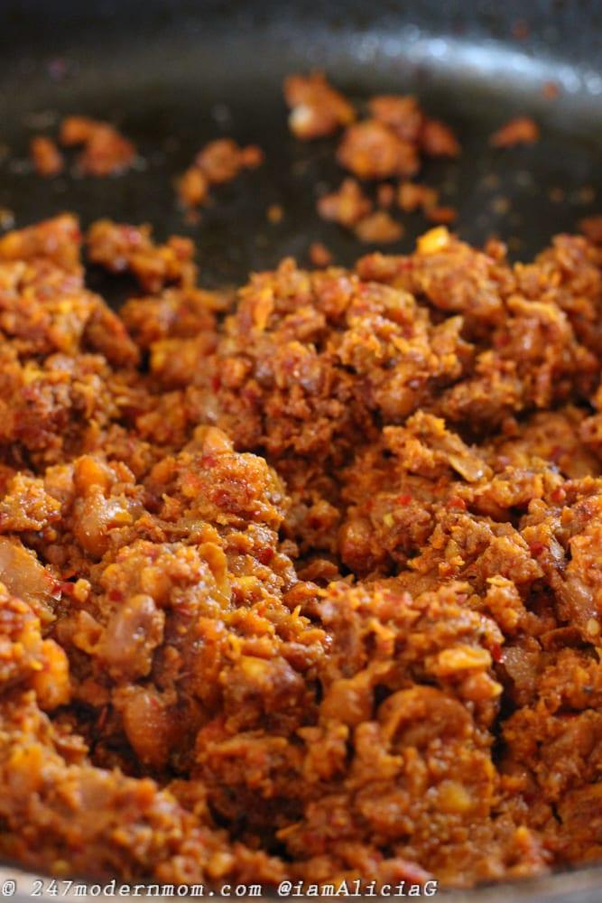 Chorizo Beans Combo