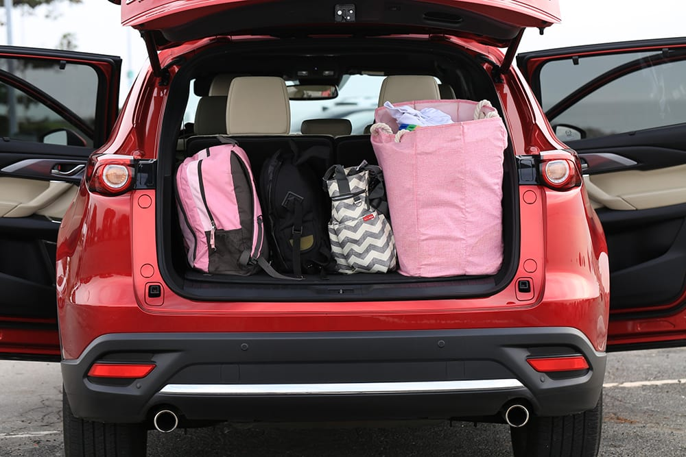 Mazda CX-9 Review Full Trunk