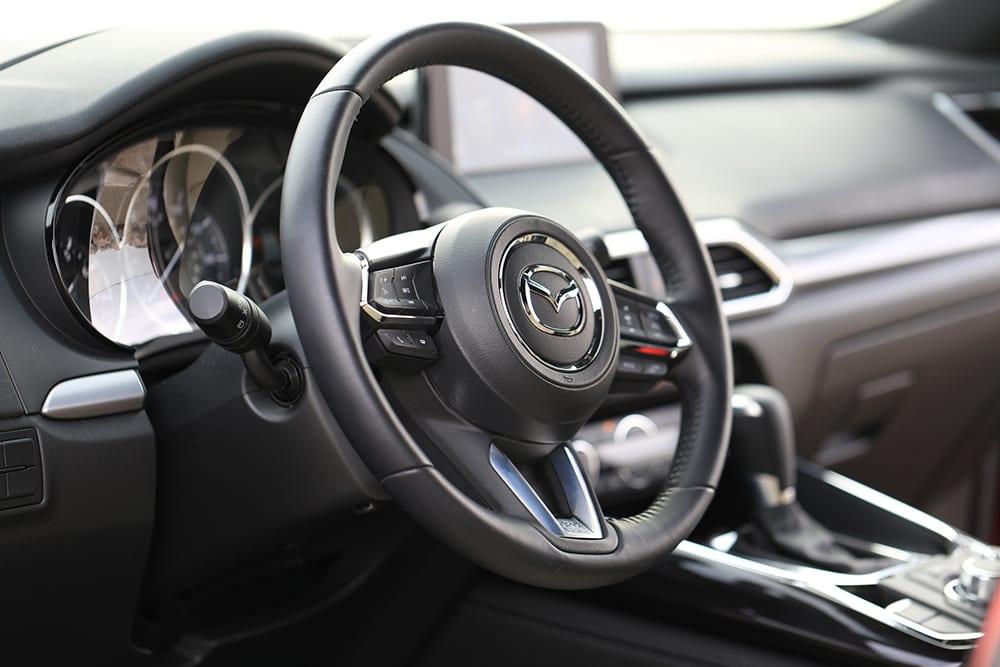 Mazda CX-9 Review Steering Column