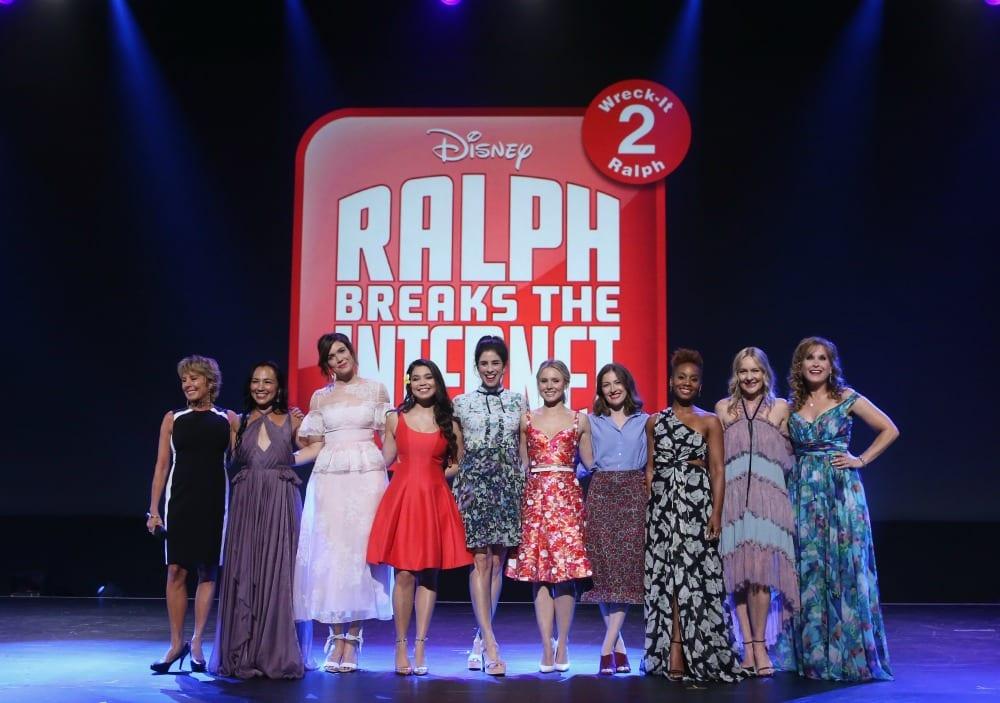 Ralph Breaks the Internet Celebrity Cast 4