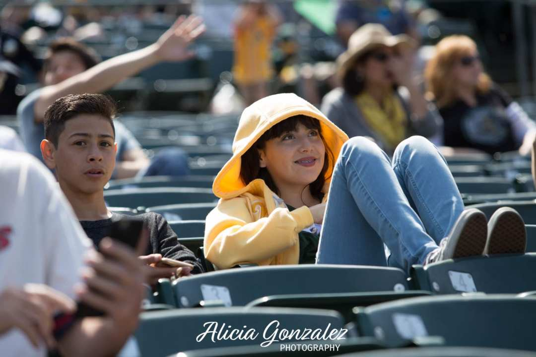 Oakland Athletics celebrates Cesar Chavez Day Angie