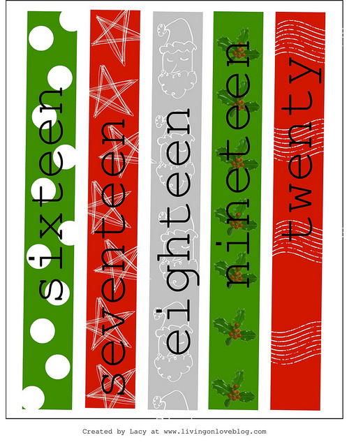 3 paper chain christmas