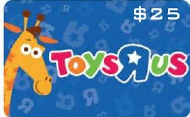 Free 25 Toys R Us Gift Card 24 7 Moms