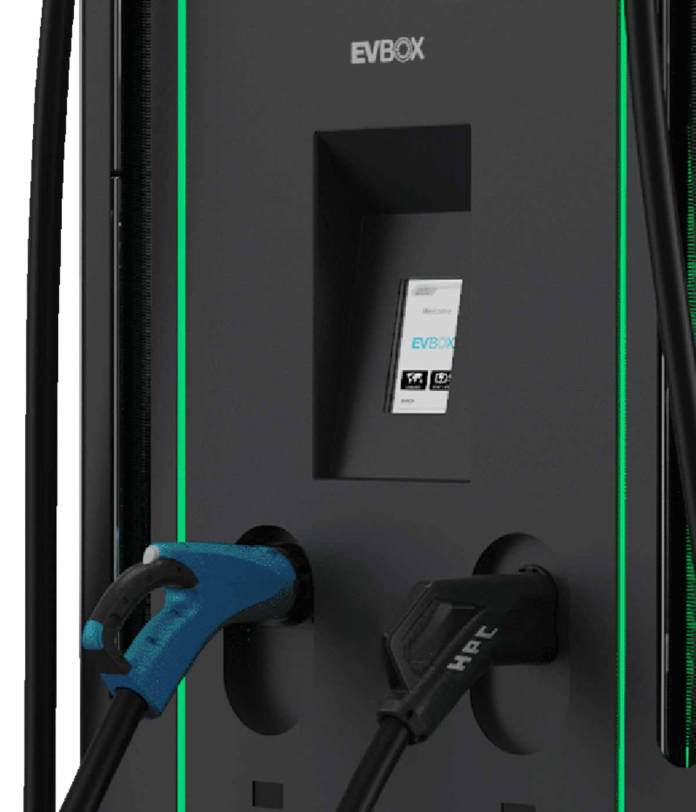 EVBox Troniq - Level 3 DC Fast Charger For Electric Cars