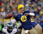 Aaron Rodgers' Jeopardy guest-hosting stint starts...