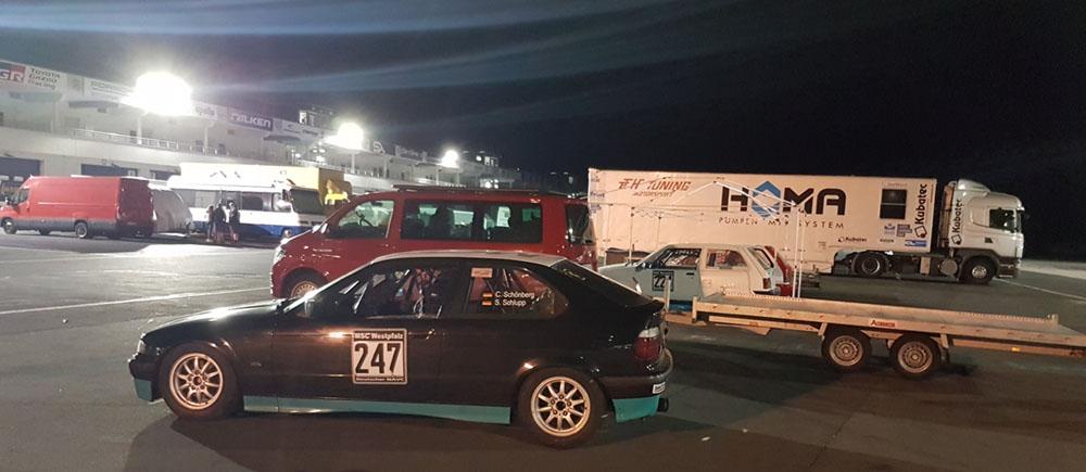 BMW Rennwagen Nürburgring NAVC Rundstreckenmeisterschaft