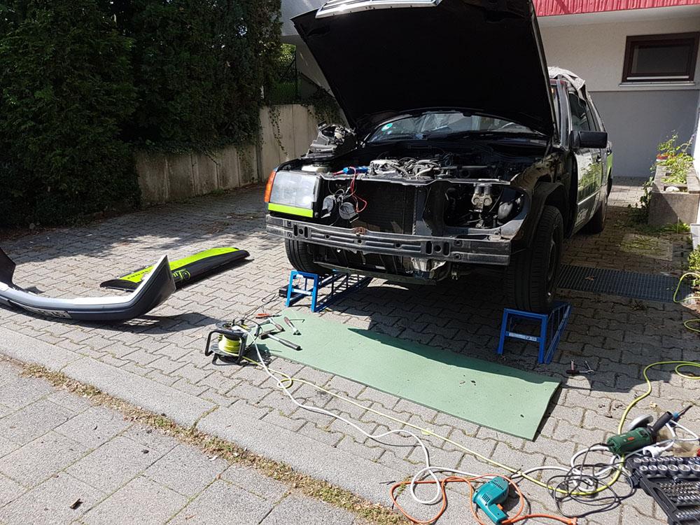 W124 Reparatur