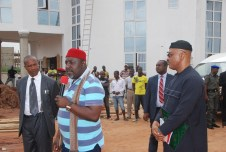 Image result for Thousands rally in support for Okorocha