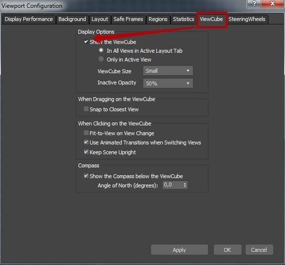 Интерфейс Autodesk 3ds Max