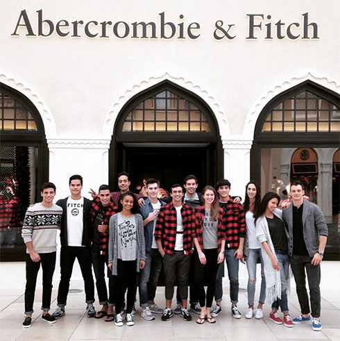 Abercrombie & Fitch Now Open