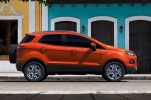 Ford pregateste un nou SUV, care are putea inlocui modelul Ecosport