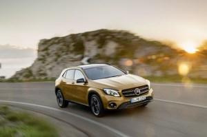 Facelift si motorizari noi pentru Mercedes GLA