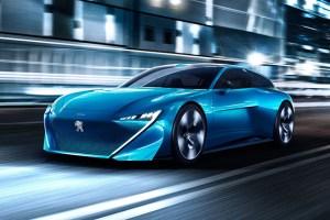 Peugeot Instinct, un concept de shooting brake autonom, cu propulsie hibrid