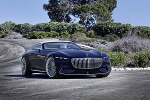 Mercedes-Maybach 6 Cabriolet, un concept cu propulsie electrica