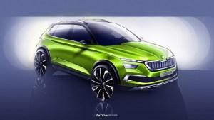 Viitorul crossover Skoda este anticipat de conceptul Vision X