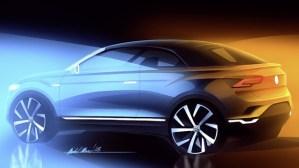 Volkswagen T-Roc cabriolet vine in 2020