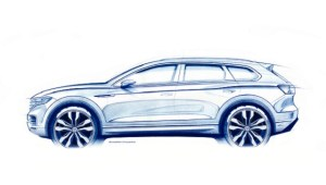 Volkswagen lanseaza a treia generatie Touareg