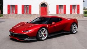 Ferrari SP38, cea mai recenta creatie unica a calutului cabrat
