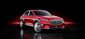 Vision Mercedes-Maybach Ultimate Luxury, un concept insolit, intre crossover si sedan