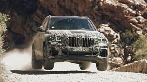 BMW prezinta modul in care este testata viitoarea generatie X5