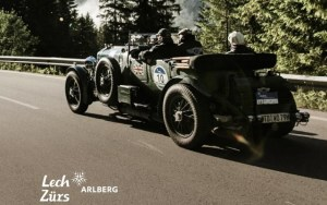 Pictures from the Arlberg Classic Car Rally 2018