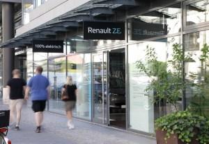 Renault inaugureaza la Berlin al doilea centru de vanzare dedicat autovehiculelor electrice
