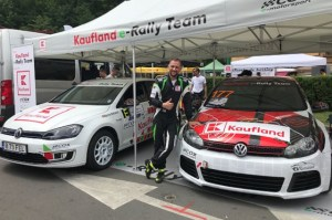 Electric Premiere in Romania's hill climbing championship