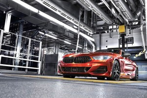 Noul BMW Seria 8 Coupé a intrat in productie