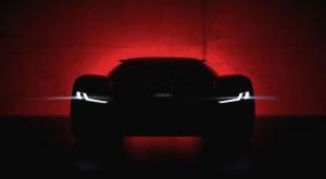 Audi PB 18 e-tron – un showcar cu propulsie electrica