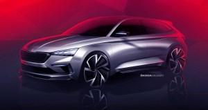 Škoda Vision RS prefigureaza urmatoarea generatie RS, dar si noua compacta a marcii cehe