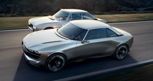 Peugeot e-Legend – batranul 504 coupe, reinterpretat in stil 2018