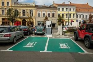 Statii de incarcare in regim gratuit, pentru automobile electrice, la Cluj-Napoca