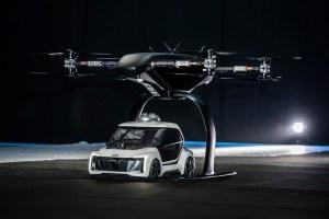 Audi, Airbus si Italdesign testeaza un aerotaxi