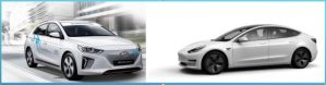Experiente electromobilistice paralele cu Hyundai Ioniq si Tesla Model 3 – episodul I