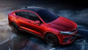 Geely FY11 pare sa prefigureze viitorul SUV coupé de la Volvo