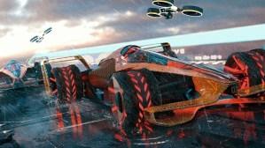 McLaren MCLE, un concept spectaculos pentru Formula 1 din… 2050