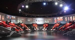 "S-a deschis expozitia ""Michael 50"", la Muzeul Ferrari din Maranello"