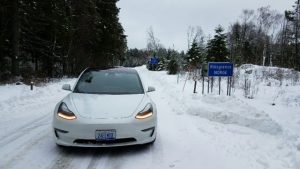 200 de kilometri in sudul Norvegiei, cu Tesla Model 3