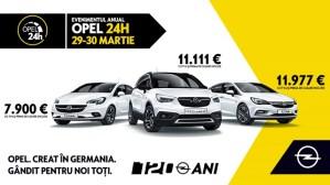 Evenimentul Anual Opel 24H: 29-30 martie!