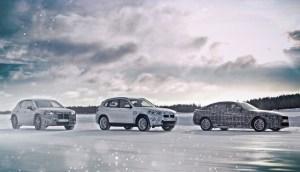 Prototipurile urmatoarelor modele electrice BMW sunt testate la Cercul Arctic