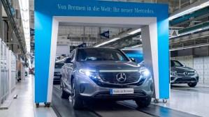 Mercedes a demarat productia modelului electric EQC in Germania