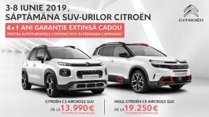 SĂPTĂMÂNA SUV-URILOR CITROËN, 3-8 IUNIE, AUTOGLOBUS TIMIȘOARA