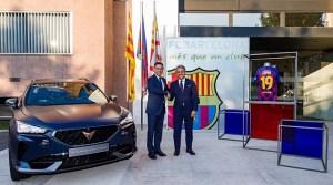 CUPRA si FC Barcelona, intr-un parteneriat pentru urmatoarele 5 sezoane
