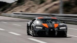 Bugatti Chiron este primul automobil care a depasit viteza de 300 mile/ora