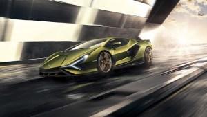 "Lamborghini Sian - primul ""taur"" hibrid este cel mai rapid model de strada din istoria marcii"