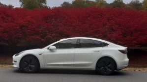 De la Atlantic la Motor City, cu Tesla Model 3